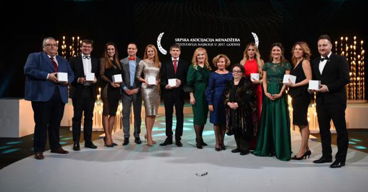 Atria Group – Proglašena za najboljeg poslodavca u kategoriji MMPP u 2017. godini od strane SAM-a