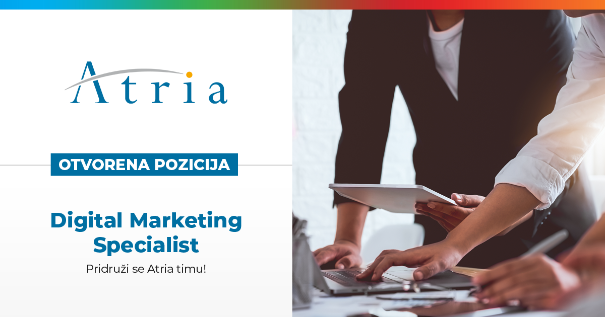 [OTVORENA POZICIJA] Digital Marketing Specialist