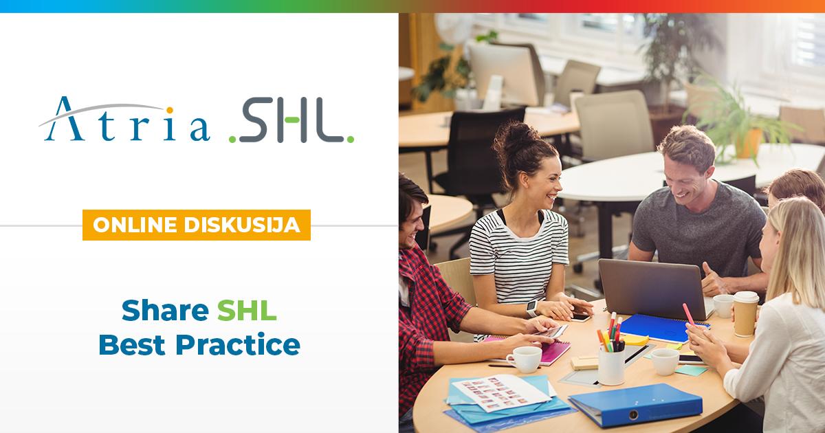 [Online diskusija] Share SHL Best Practice