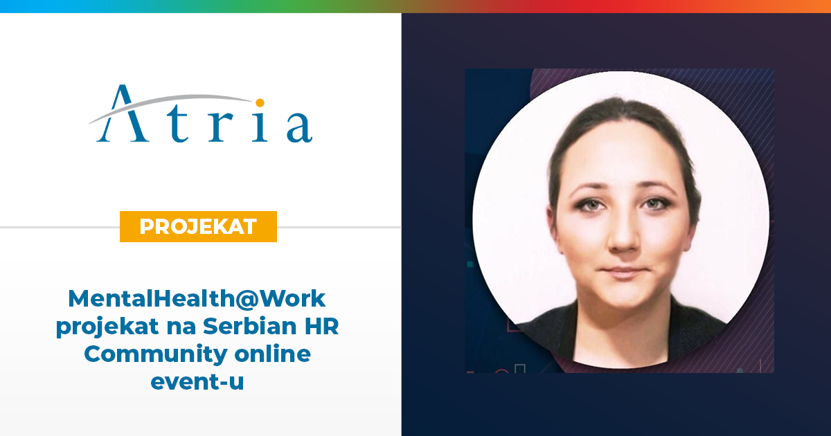 MentalHealth@Work projekat na Serbian HR Community online event-u