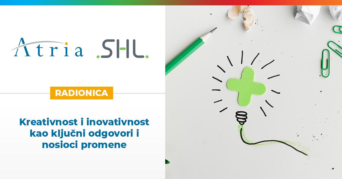 [ONLINE RADIONICA] Kreativnost i inovativnost kao ključni mehanizmi promene