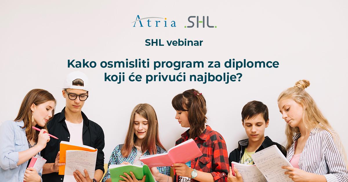 [SHL webinar] Kako osmisliti program za diplomce koji će privući najbolje?