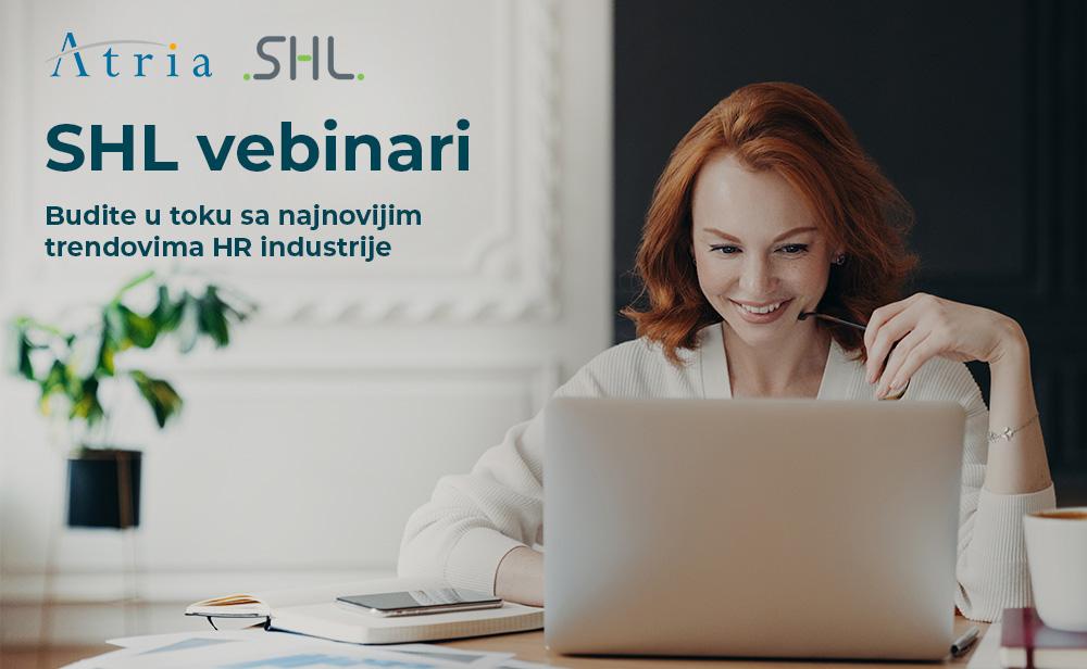 SHL vebinari – Budite u toku sa najnovijim trendovima HR industrije