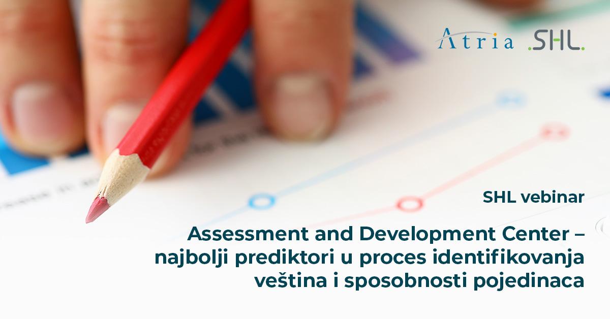 [SHL webinar] Assessment and Development Center – najbolji prediktori u proces identifikovanja veština i sposobnosti pojedinaca