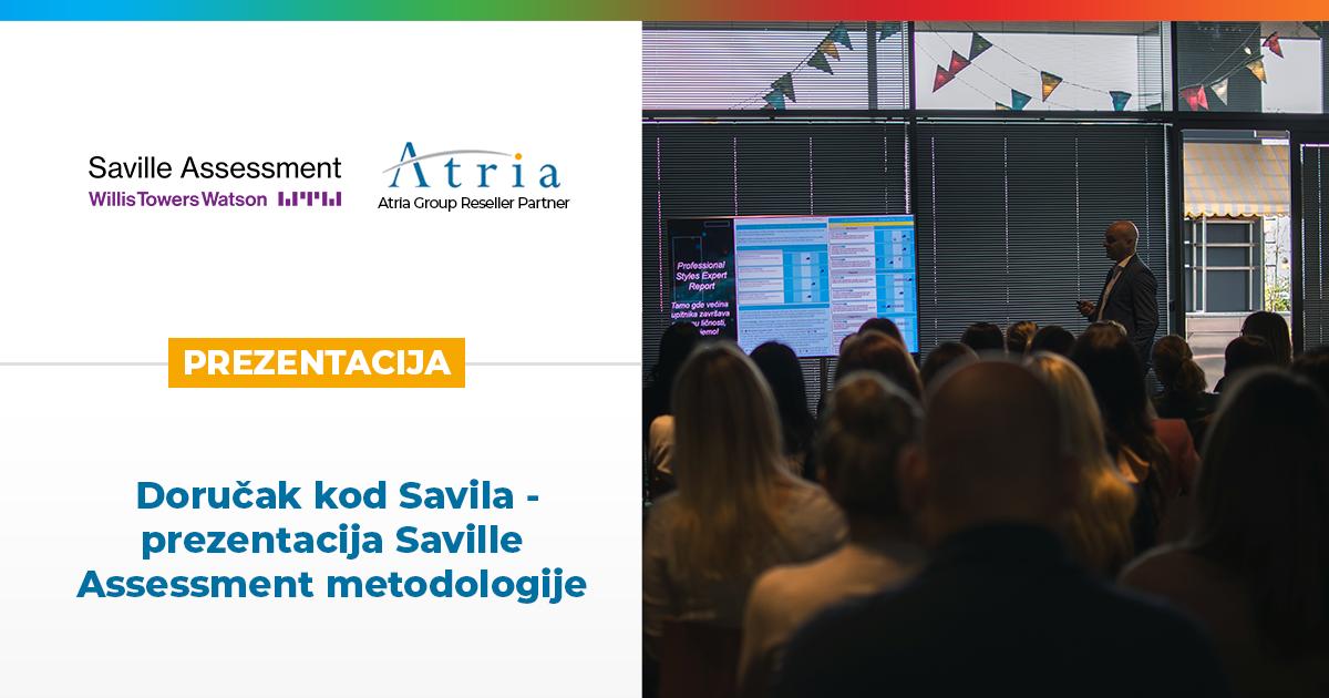 Doručak kod Savila – prezentacija Saville Assessment metodologije